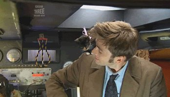 Happy birthday to David Tennant and my cat. April 18th has been generous