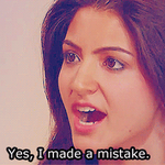 Anushka to Virat after he got out for 1. #JustKidding #IndvsAus http://t.co/L0yCycmV7T http://t.co/vE40Wjg5mp