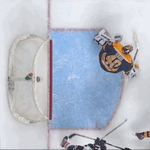 GIF: Overhead look at the contact on Perry's game-tying goal http://t.co/bnVAK2xFif