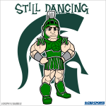 Sparty on! Michigan State is dancing into the Elite Eight. http://t.co/aidvBXzmy7