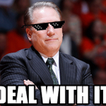 Tom Izzo is back in the Elite Eight. http://t.co/nPj1FkEoMf