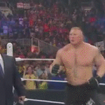 Do you think @HeymanHustle was a little upset that @BrockLesnar didnt get his requested rematch on #RAW? @WWE http://t.co/JCyWLnQZEf