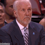 Pops reaction to Mario Chalmers half-court shot is too good. http://t.co/OLy5OMufs3