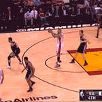 GIF: Birdman working the offensive glass to finish this putback dunk http://t.co/Toa2QUlfP6