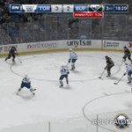 Moulsons tying goal on the power play. [GIF] #TORvsBUF http://t.co/oKS9k7d6HS