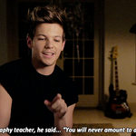 Oh that geography teacher was a bit wrong 😜 #ProudOfLouis http://t.co/Y7YhpGAn5c