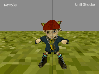 Retro3D – a shader for Unity that imitates low grade 3D graphics. https://t.co/8dj3RYFfn4 初代プレステ風シェーダー書いた http://t.co/8ngvaXIyjN