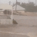 WATCH: A house floats down a street in #Dungog, north of #Newcastle #nswstorms #SydneyStorm http://t.co/whZ6fOpsgu