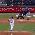 A lot of this from #BIGMike tonight. #Yankees lead 6-1 in the 7th. http://t.co/L51WVdV4L1