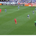 GIF: Golazo del Barça, Neymar #fcblive http://t.co/p3kVxNosyp