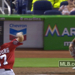 .@Giancarlo818 crushes a double to left to bring home the first run of the game. VIDEO: http://t.co/TehY356HMJ http://t.co/vhuEOf7diz