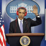 Hey Baltimore! Obama waves hello! Lol #FreddieGray RT @WhiteHouse: Beats by Barack. http://t.co/O82hhyMPjw #WHCD http://t.co/EeS64SS6cR