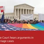 Same-sex marriage returns to US supreme court in historic case – live updates http://t.co/KFcCPr6URf #SCOTUS http://t.co/14ljViefyw
