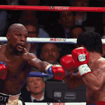Here, have a GIF of Floyd Mayweather getting punched in the face. http://t.co/ViL6cVVYPU