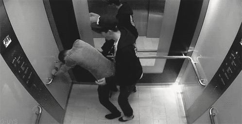 Порно Геи В Лифте