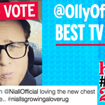 RT to vote @Ollyofficial as Best TV Star in heats #TwitterAwards! Boost his chances here: http://t.co/Fq1uNMwEfC http://t.co/X2zJqHXfeK