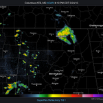 921p Sun- Still not done! We have some showers popping up in the west. No lightning at this time http://t.co/VgxKFtj9sE