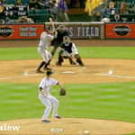 GIF: Brandon Belt kills a baseball into the sky and nails the bat drop http://t.co/XS01snPvYA