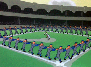 current scene at Yankee Stadium http://t.co/0cLvcx0mmW