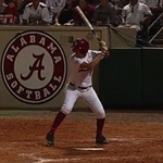 GRAND SLAM! Marisa Runyon answers back for the Tide! Alabama up 5-3 as we head to the 7th! #d1softball http://t.co/Bic8ciZNsZ