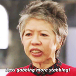 Lee Lin Chin is still impatient with this scoring business! #SBSEurovision http://t.co/hEsRAZohUr