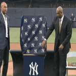 Amazing ceremony, now let's play some ball! #PinstripePride http://t.co/I6ekTSiOzN