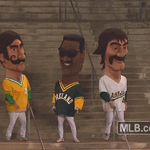 As beat the Yankees, 5-4, in the series opener, and As legends be like: http://t.co/ehaKO4caim