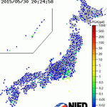 The earthquake that just happened that has shaken the entire country of Japan as animation: http://t.co/Rs6nTowjLe
