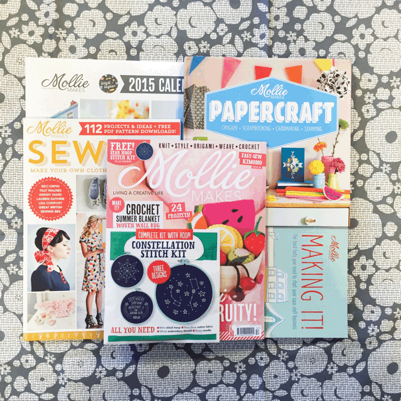 50K giveaway! RT for chance to #win #molliemakes books, mags, 2015 calendar & fabric by @lisalevis. #molliemakes50 http://t.co/vunpHPqfk4