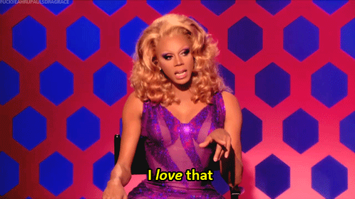 When you exchange texts with a new friend for the first time and they are @rupaul gifs http://t.co/BiKkqHWn65
