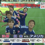 Some Nadeshiko #JPN players celebrate their win over #ENG after the match: http://t.co/g89y59HsVx