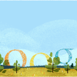 Google Doodle team pays homage to the first aviation Loop De Loop http://t.co/ZmleLn0gIC #Google #art #internet http://t.co/Jz4ZYrPPBh