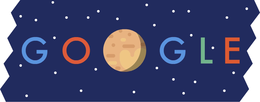 We ♥ Pluto. #PlutoFlyby #GoogleDoodle https://t.co/wOmhVx6VuT http://t.co/m9upDvso9Y