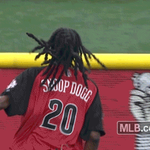 RT @MLBGIFs: .@SnoopDogg's all about the hustle. #CelebSoftball http://t.co/RHTo9CfogO