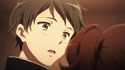 (・ω・)p q(・ω・) 黄前 久美子/塚本 秀一 #anime_eupho
