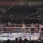 Streamers of support for @WWEBalor in Tokyo! #OwensVsBalor #BeastInTheEast http://t.co/ohzrB2MLPC