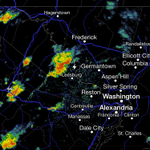 Heads-up for another round of showers & storms moving in on #DC & burbs over next hour. http://t.co/yZ8YYxkUdo