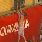Wrong balcony #SanFermin2015 http://t.co/5i9f2w2KcO