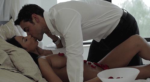 Романтичный видео секс