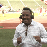 Looks like @45PedroMartinez danced his way from Cooperstown to Fenway! The @RedSox retire #45 tonight! http://t.co/F07crIh2Xi