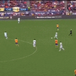 El golazo de Hazard en el amistoso contra el Barça - http://t.co/hrEUB1yTvA