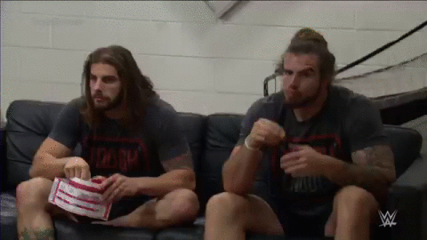 The guys are enjoying the drama between the girls once again... @ToughTanner @ToughJoshua #ToughEnough http://t.co/fDaSr3kbYT