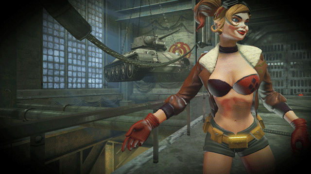 Harley Quinn is the first #DCBombshell in DCUO! Members play as her later today in #Legends. https://t.co/WpMFc6G9RO http://t.co/2UB8Se1bAn