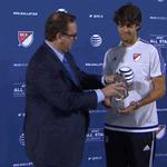 Kaká is your #MLSAllStar MVP! #DefyExpectation @KAKA http://t.co/hs7C8mtXYX