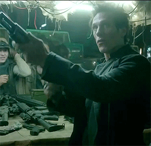 Give the man a gun! @SMerrells #Dominion http://t.co/HxG3F477Hu