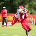 The battles continue tomorrow.  #ChiefsCamp http://t.co/9BqsHf3poe