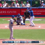 Jose Bautista gets the Jays within one with a single swing of the bat http://t.co/0LIQuQ3DJi #BlueJays http://t.co/EjehepelR3