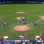 The benches clear after Aaron Sanchez gets ejected http://t.co/aeJvfNv5i6 #BlueJays http://t.co/69cJXa7EpH