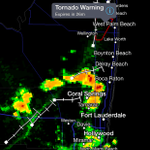 TORNADO WARNING until 4:30 p.m. for Palm Beach County - Wellington, Greenacres, Royal Palm, West Palm Beach http://t.co/ct6ZXA4Qky