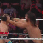 The replay you KNEED to see .... @WWERollins breaking @JohnCenas nose last week on #RAW. http://t.co/gceJaBN9B2